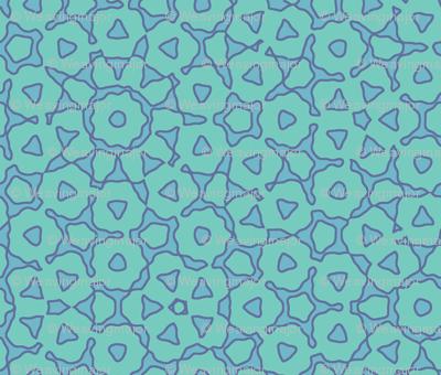 quasicrystal in chalk blues