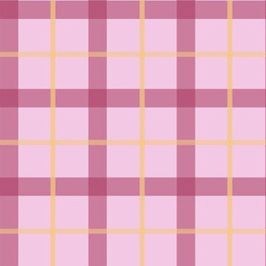 Pink Lemonade Plaid