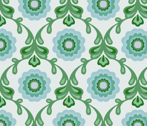 daisydamask_babyblue fabric by myracle on Spoonflower - custom fabric