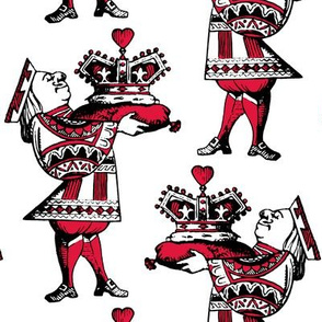 Crown of Hearts Red