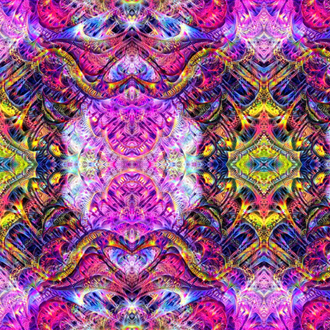 Goodwitch fabric by mugglz on Spoonflower - custom fabric