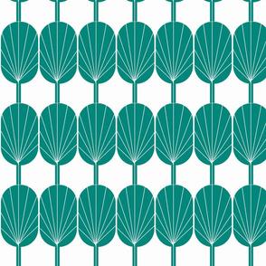 Fanpod in Jade