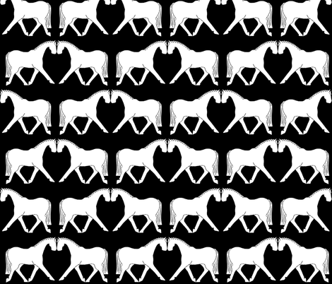 Graphic dressage fabric by ragan on Spoonflower - custom fabric
