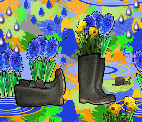 March 21 fabric by vannina on Spoonflower - custom fabric
