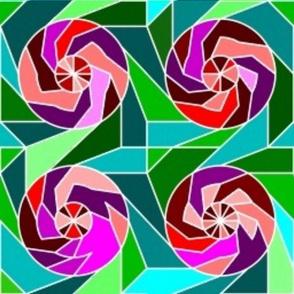 Batik Roses