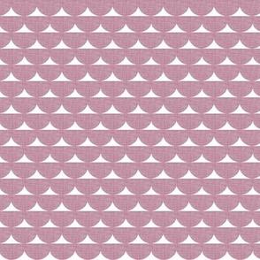 Pink Linen Scallop