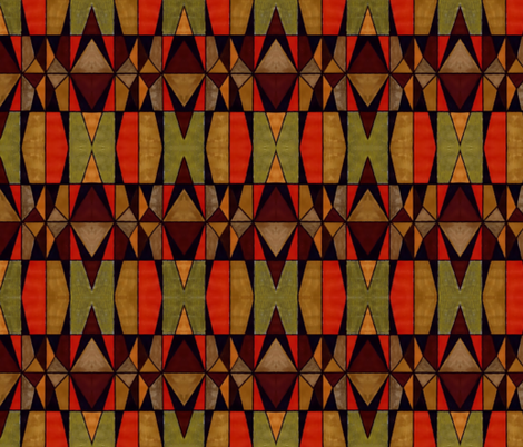 patchwork 2 fabric by fashionita_boutique on Spoonflower - custom fabric