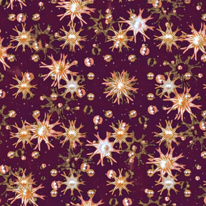 Flowers and Balls Pattern