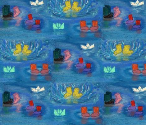 wellies fabric by belana on Spoonflower - custom fabric