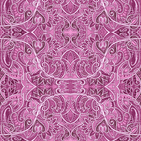 At the Sine of the Paisley Valentine fabric by edsel2084 on Spoonflower - custom fabric