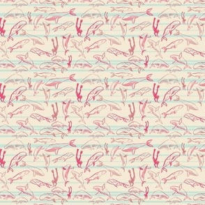 Whale Dive (pink)