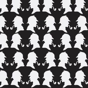 SherlockHolmes-BlackWhite
