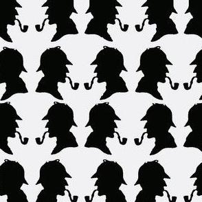 SherlockHolmes-WhiteBlack