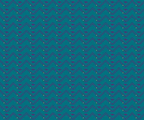 peacock dot fabric by luluhoo on Spoonflower - custom fabric