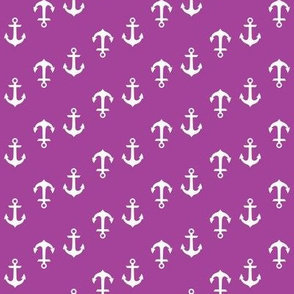 Radiant Orchid Purple Anchors