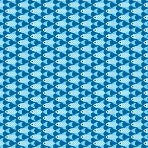 02982539 : finned fish : sky blue