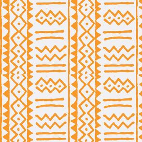 mud stripe orange