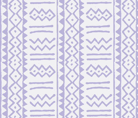 mud stripe purple fabric by augustacroft on Spoonflower - custom fabric