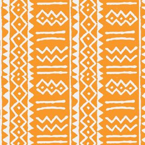 mud stripe orange-reverse