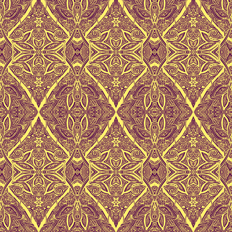 Diamond Crawl Squirm fabric by edsel2084 on Spoonflower - custom fabric