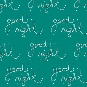 goodnight Jade