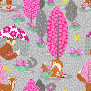 Foxes in Galoshes