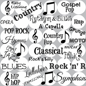 Every type of Music Under The Sun!