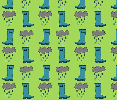 rainboots fabric by abbeyrow on Spoonflower - custom fabric