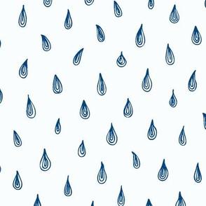 raindrops_blue&white