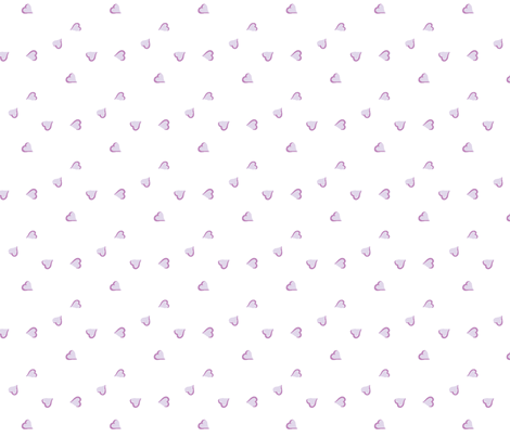 purple hearts fabric by augustacroft on Spoonflower - custom fabric