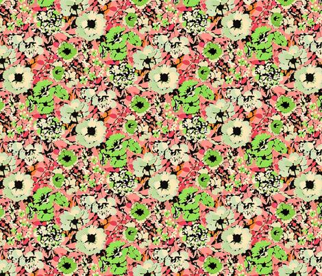 Flower Garden fabric by mktextile on Spoonflower - custom fabric