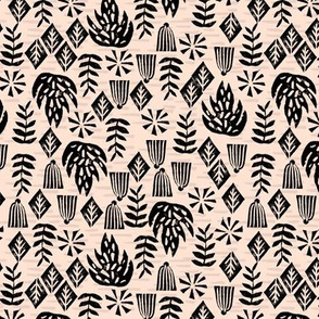 Safari Plants - Blush (Custom color/ size) by Andrea Lauren