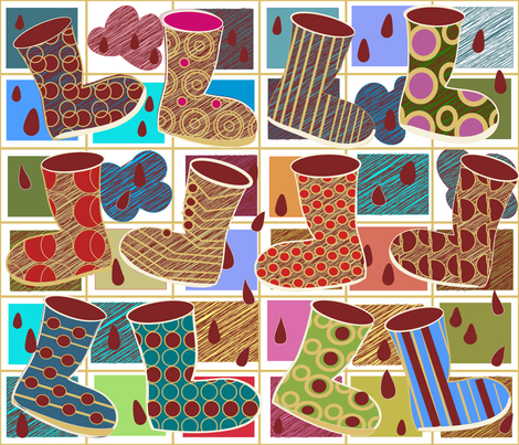 SOOBLOO_FOLLOW_THE_LEADER-E-01 fabric by soobloo on Spoonflower - custom fabric