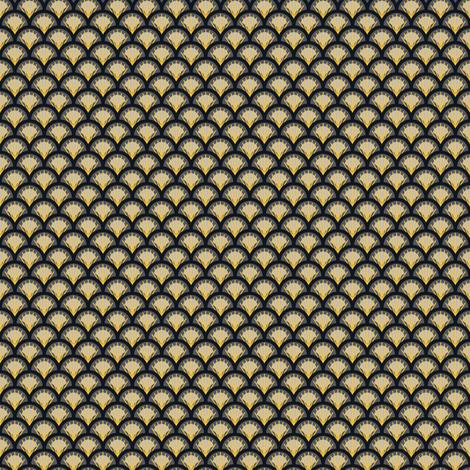 FANS Yellow&Grey fabric by juliesfabrics on Spoonflower - custom fabric