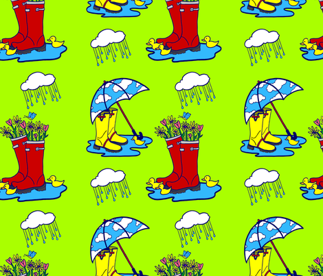 Trust the Boots! fabric by ourdreamsmatter on Spoonflower - custom fabric