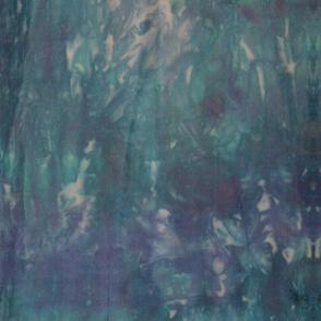 Teal & Blue Space Dye
