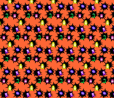 Breaking out fabric by seedtosalad on Spoonflower - custom fabric