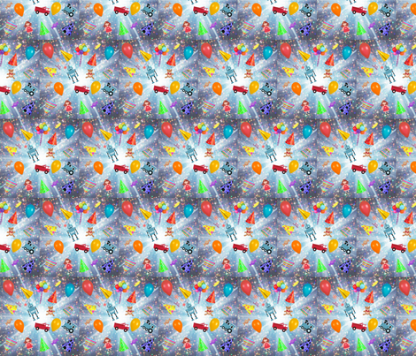 toy blast fabric by seedtosalad on Spoonflower - custom fabric