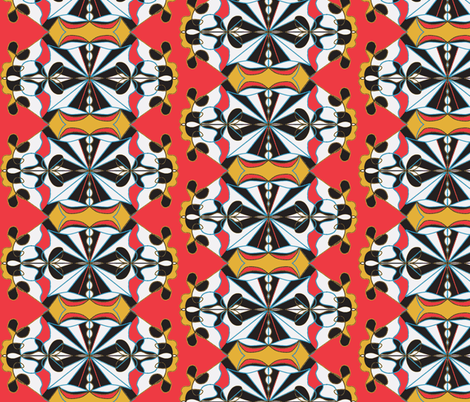 """Round and Round"" fabric by elizabethvitale on Spoonflower - custom fabric"