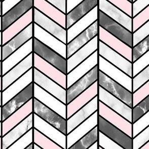 inspirationz s shop on spoonflower fabric wallpaper and gift wrap Caribbean Blue Chevron Background grey marble pink herringbone chevron