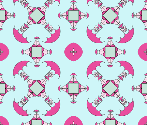 Rain, Rain, Let's Go Play! fabric by mysticaluna on Spoonflower - custom fabric