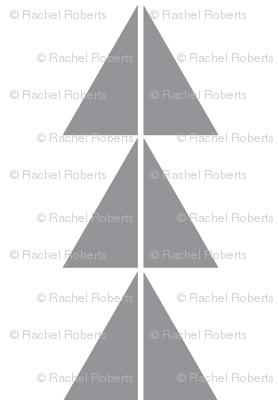 Grey Triangle Arrows
