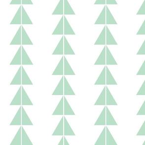 Mint Triangle Arrows