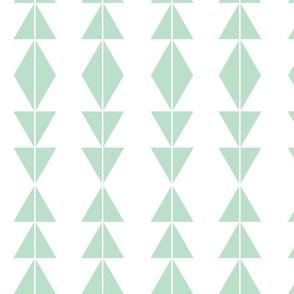 Mint Tribal Triangles