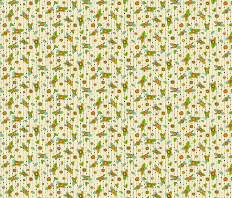 shirt floral 01 fabric by darcibeth on Spoonflower - custom fabric