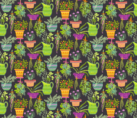 Herb Garden Designs Spoonflower Design Challenge