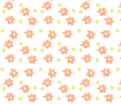 daisylove fabric by blackbirdhotel on Spoonflower - custom fabric