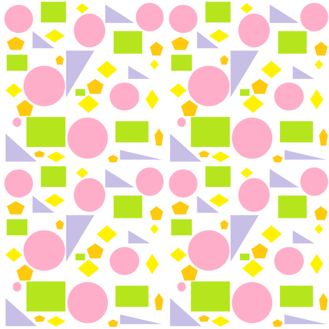 Spring_Geometrics fabric by lorileidig on Spoonflower - custom fabric