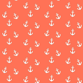 Anchors on Coral