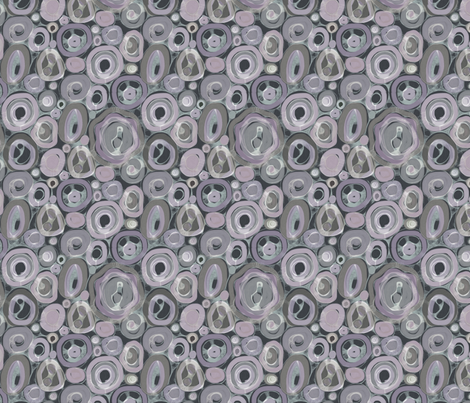 Muted Geodes fabric by elramsay on Spoonflower - custom fabric